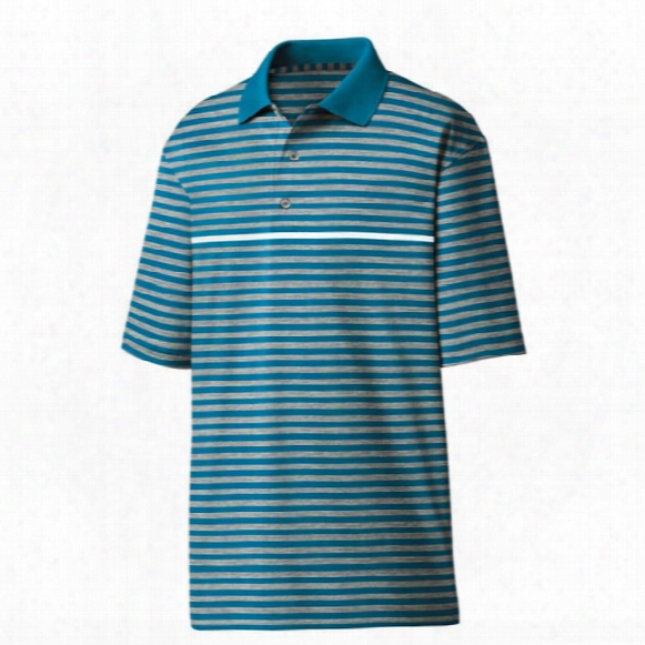 Fj Men?s Stretch Pique Stripe Color Pop Polo
