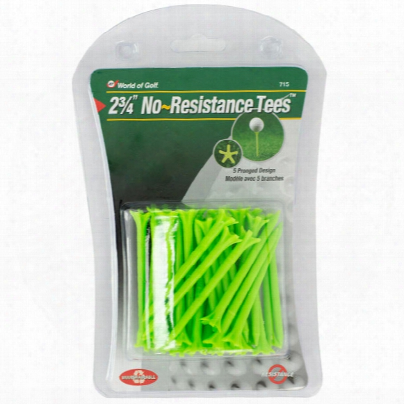 "Jef World Of Golf 2 3/4"" No-resistance Tees"