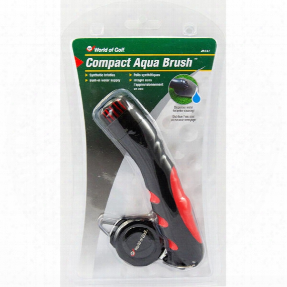 Jef World Of Golf Compact Aqua Club Brush