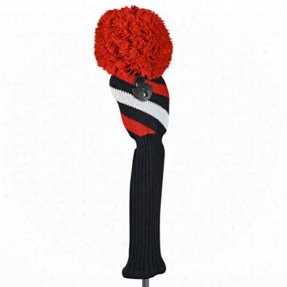 Just4golf Diagonal Stripe Fairway Headcover