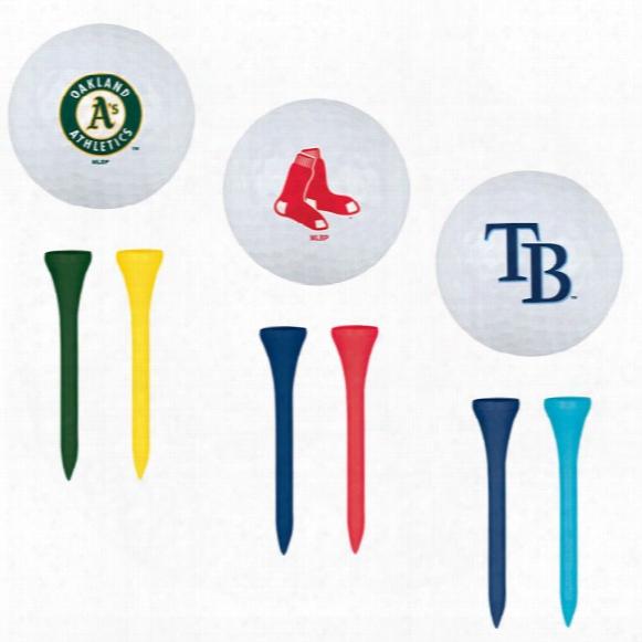 Mlb Golf Ball And Tee Set
