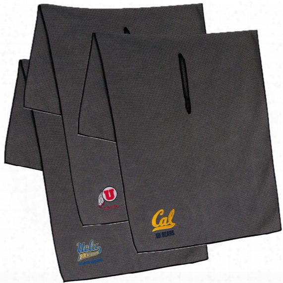 Ncaa Oversized Gray Microfiber Towel