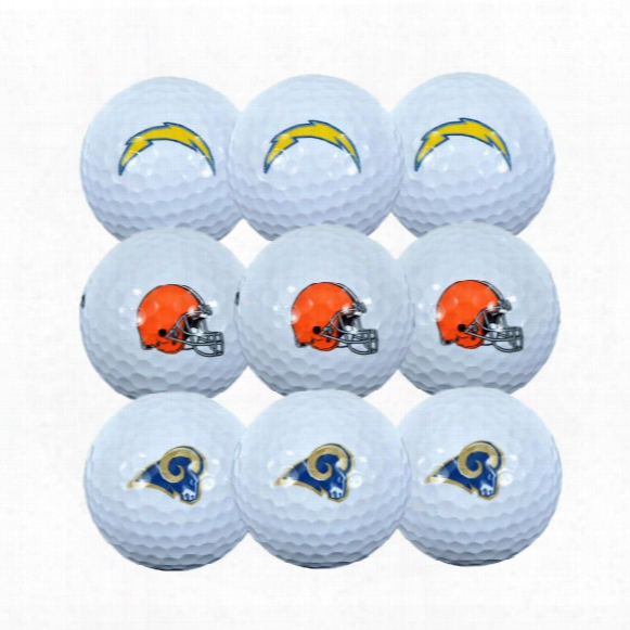 Nfl 3 Ball Sleeve Golf Balls