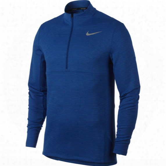Nike Men?s Aeroreact 1/2-zip Long Sleeve