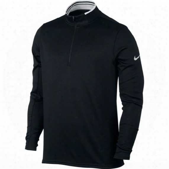 Nike Men's Dri-fit 1/2 Zip Long Sleeve Golf Shirt