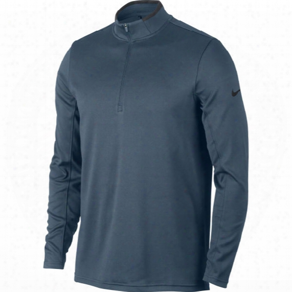 Nike Men's Drifit 1/2-zip Long Sleeve