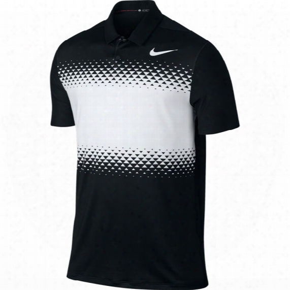 Nike Men's Tw Majors Block Golf Polo