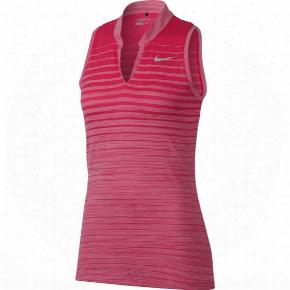 Nike Women's Zonal Sleeveless Fade Print Polo