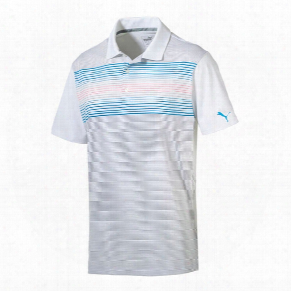 Puma Men's Highlight Stripe Polo