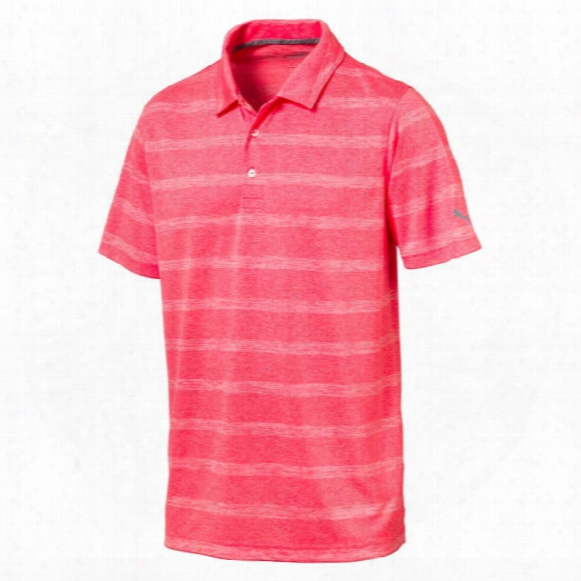 Puma Men?s Pounce Stripe Polo
