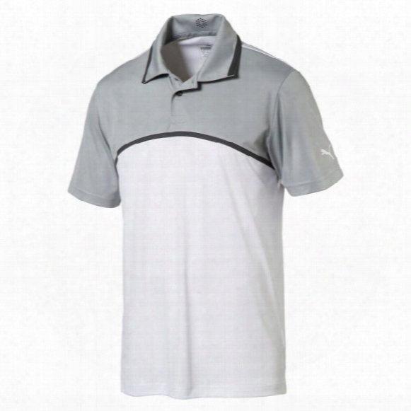 Puma Men's Tailored Color Block Polo
