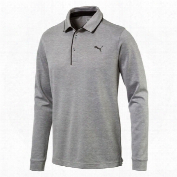 Puma Men?s Tailored Long Sleeve Polo