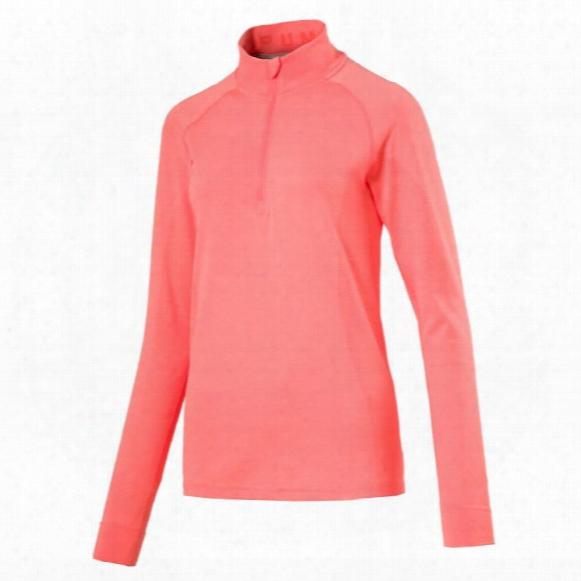 Puma Women's Evoknit Seamless 1/4-zip Long Sleeve