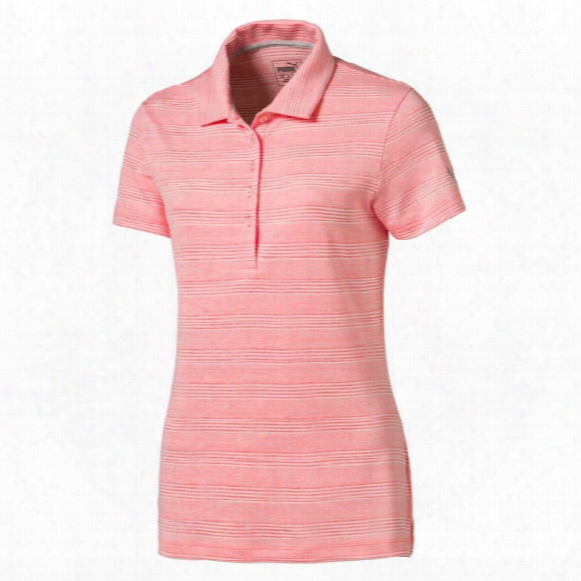 Puma Women's Haether Stripe Polo