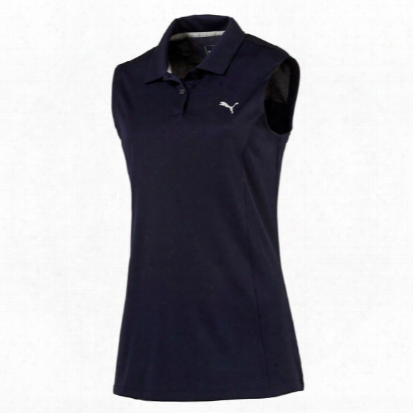 Puma Women's Sleeveless Pounce Polo