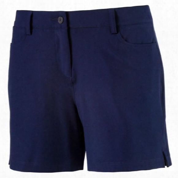 "Puma Women's Solid 5"" Shorts"