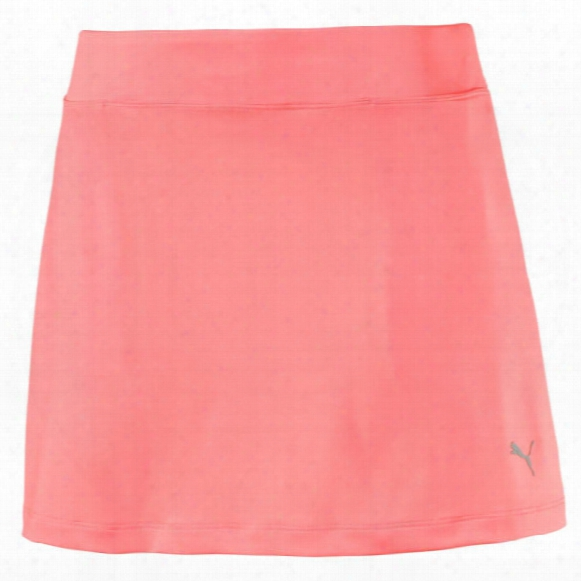 Puma Women's Solid Knit Skirt