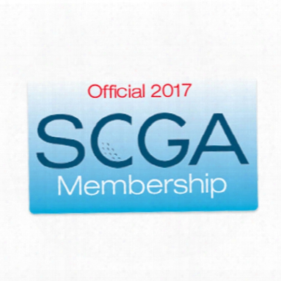 Scga 2017 Membership W/ Handicap Index