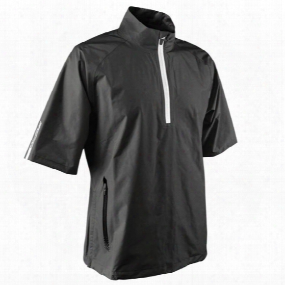 Sun Mountain Men's Cumulus Short-sleeve 1/4-zip Jacket