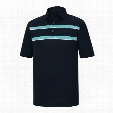 FJ Men?s Space Dye Chest Stripes Polo