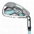 Wilson Staff Women's D300 8PC Iron Set - Graphite
