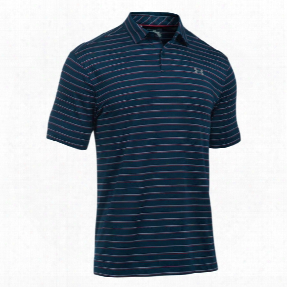 Under Armour Men's Ua Coolswitch Putting Stripe Polo