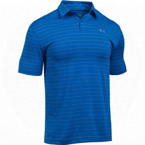 Under Armour Men's Ua Coolswitch Putting Striped Polo