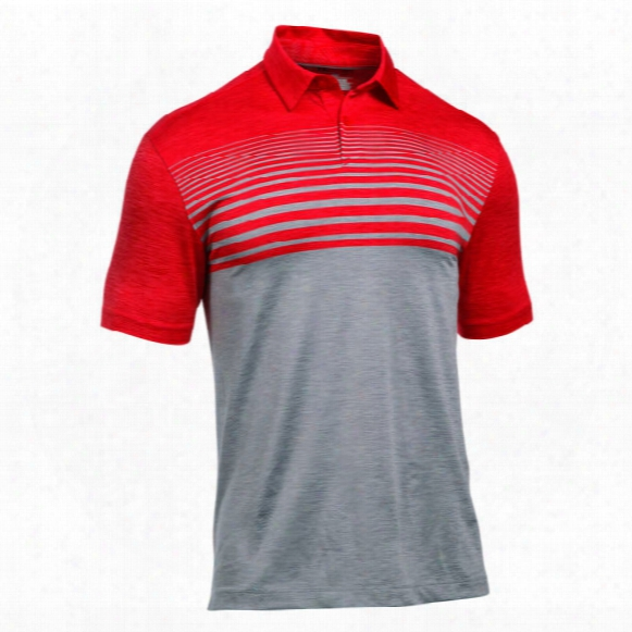Under Armour Men's Ua Coolswitch Upright Stripe Polo