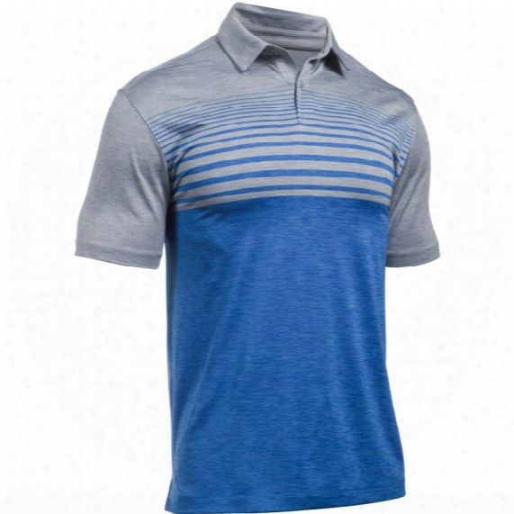 Under Armour Men's Ua Coolswtich Upright Striped Polo