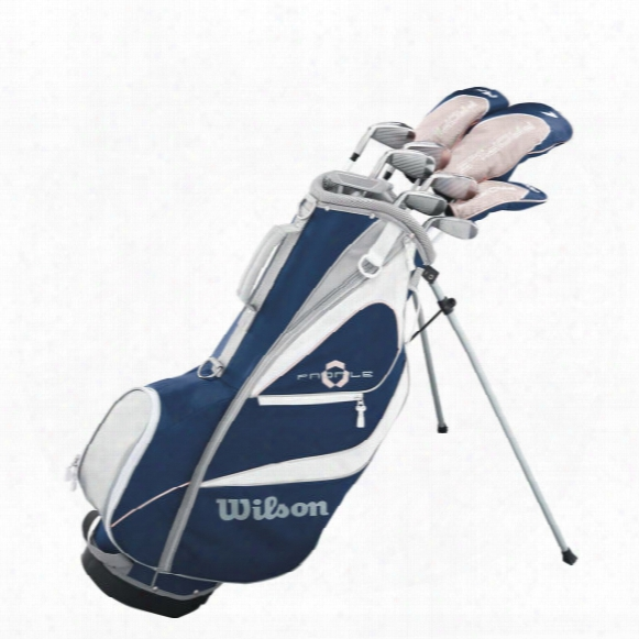 Wilson Women's Profile Xd Package Set W/ Stand Bag