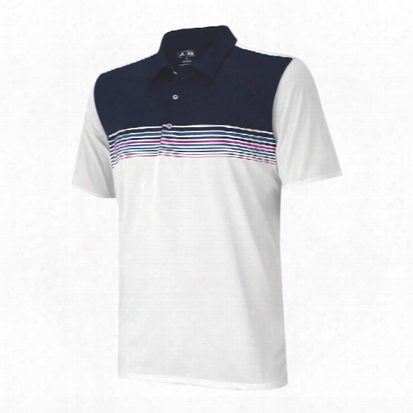 Adizero Engineered Stripe Polo