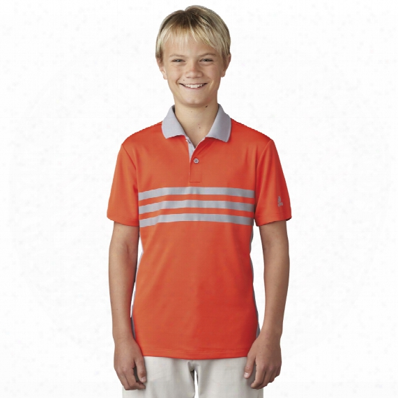 Boys 3-stripes Chest Pr1nt Polo