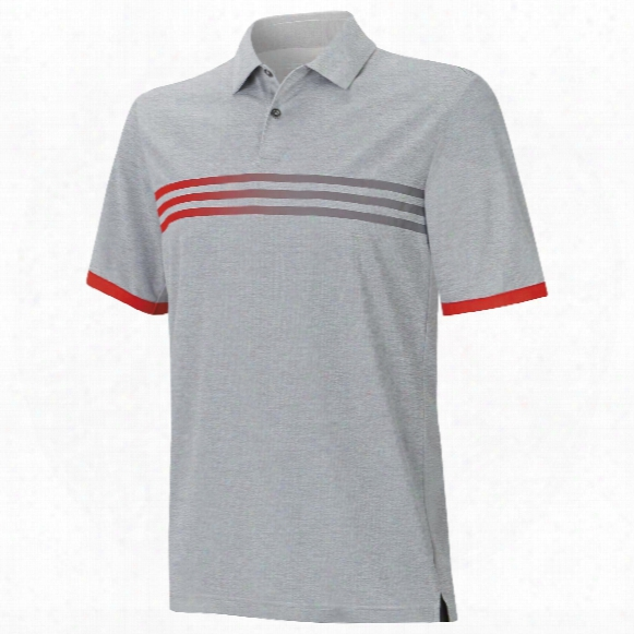 Climachill Gradient 3-stripes Polo