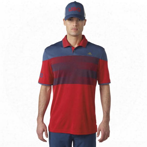 Climachill Usa American Stripe Polo
