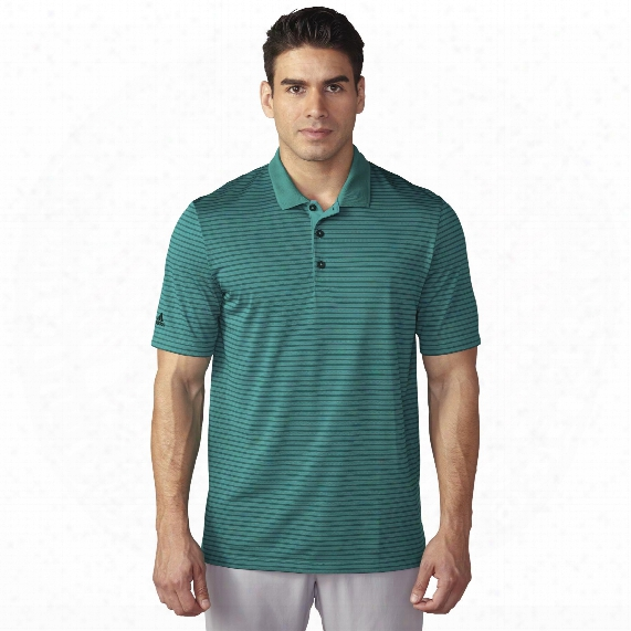 Climacoolâ® 2-color Pencil Stripe Polo