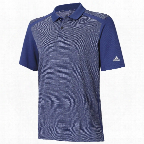 Climacool Heather Microstripe Polo