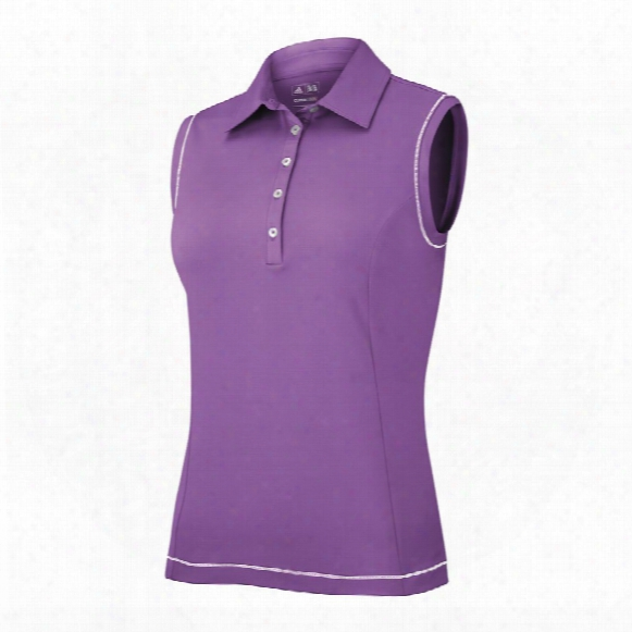Climacool Sleeveless Stretch Polo