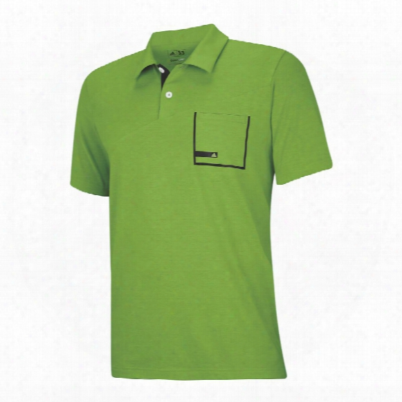 Climalite Angular Heather Pocket Polo