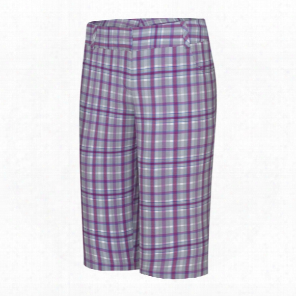 Climalite Plaid Pedal Pusher Short