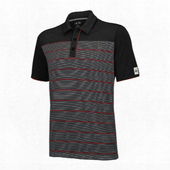 Climalite Solid Jersey With Contrast Piping Polo
