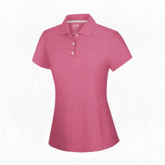 Girls Climalite Textured Solid Polo