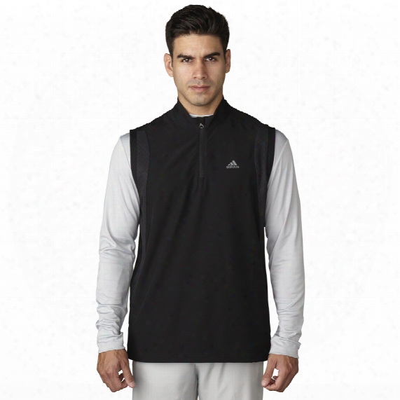 Performance Strettch 1/2 Zip Wind Vest