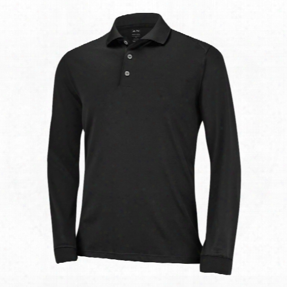 Puremotion Long Sleeve Stretch Pique