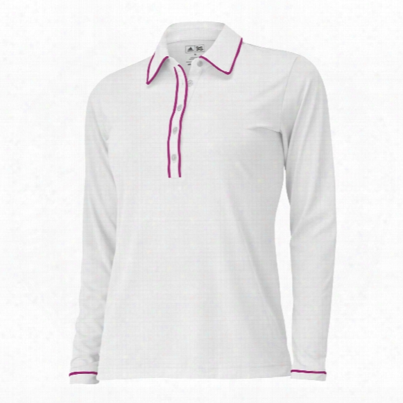 Puremotion Longsleeve Piped Polo