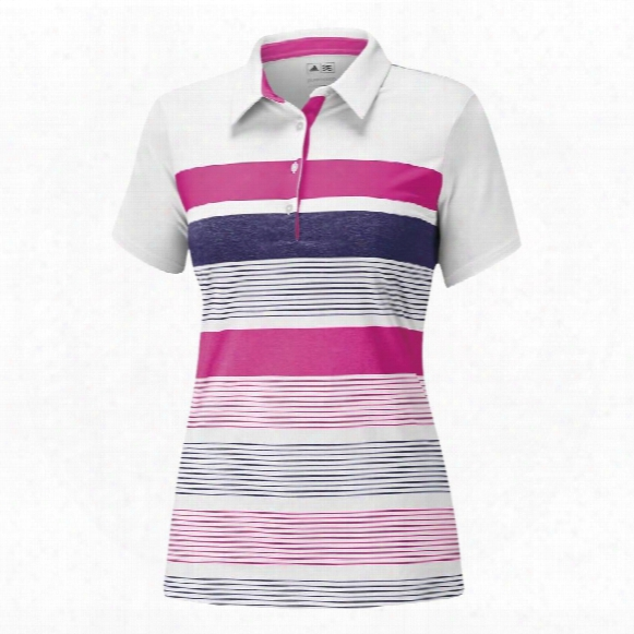 Puremotion Novelty Bold Stripe Polo