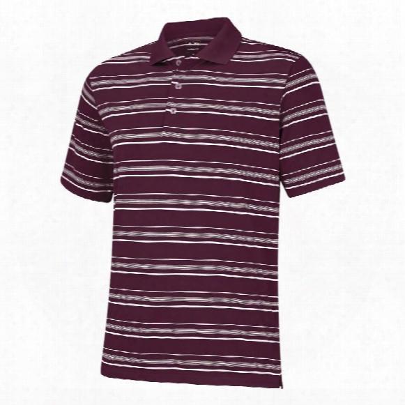 Puremotion Textured Stripe Polo