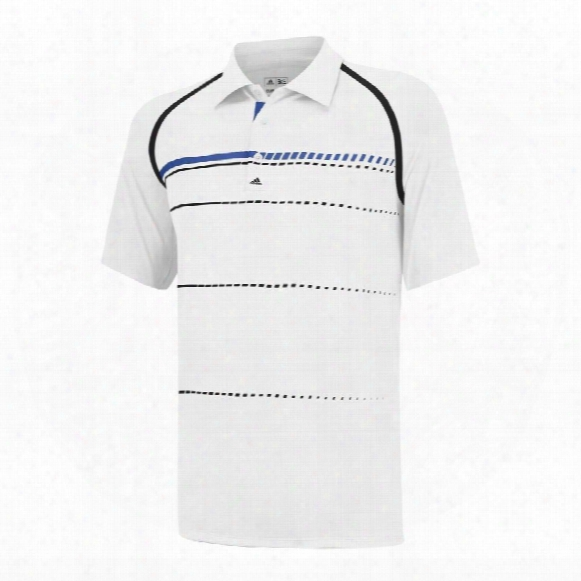 Puremotion Tour Climacool Stripe Print Polo