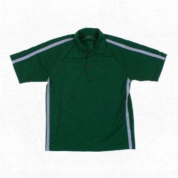 Short Sleeve Polo Shirt, Size L