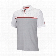 climacool mesh print tape polo