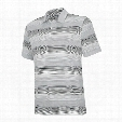 ClimaLite Heathered Ombre Stripe Polo
